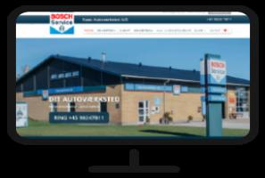 Bosch Car Service - ny hjemmeside og Google Annoncering