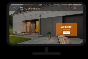 RD Smarthome - ny hjemmeside